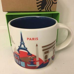 Starbucks You Are Here Mug Paris NEW with box